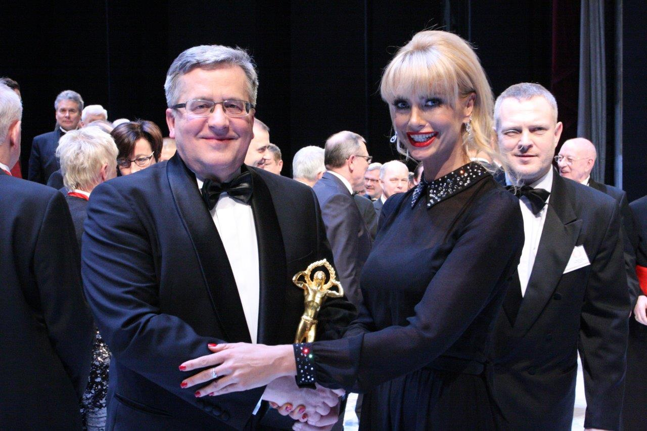 Prezydent Komorowski otrzymał nagrodę BCC